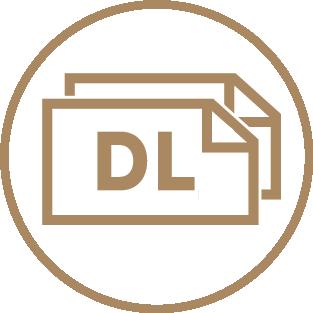 Standard Compliment Slips - Tri-fold Letterhead Size 1 Icon