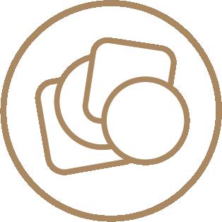 Standard Coasters - Ready Shape Templates 1 Icon
