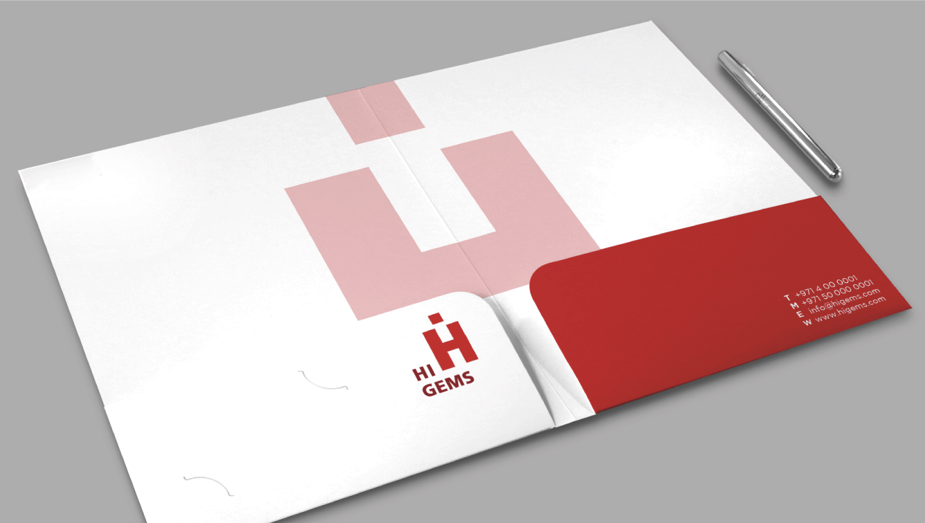 A4 Ready Shape 2-Pocket Folders 1 Image