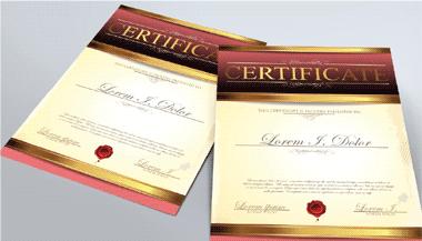 Express Certificates 1 Image