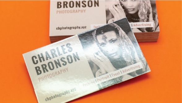 Gloss Laminated Business Cards 1 Image
