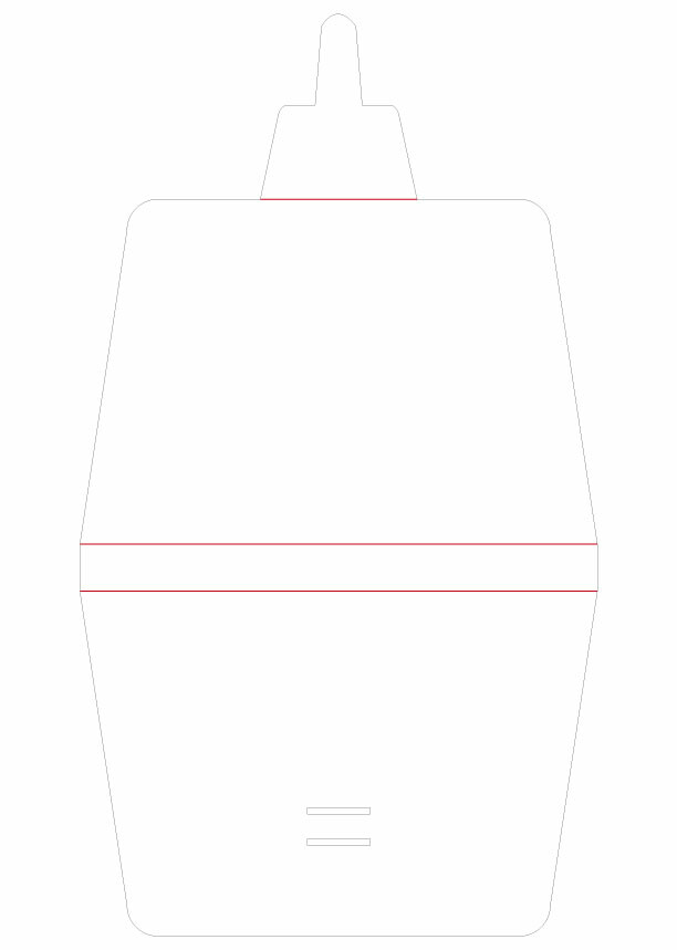 Simple Mask Holder - Simple Mask Case (110x165 / 165x295) 165x295mm 01 Image