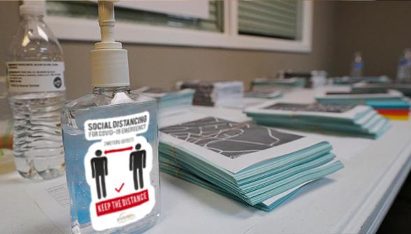 Hand Sanitizer Sticker - Zoom 2 Image