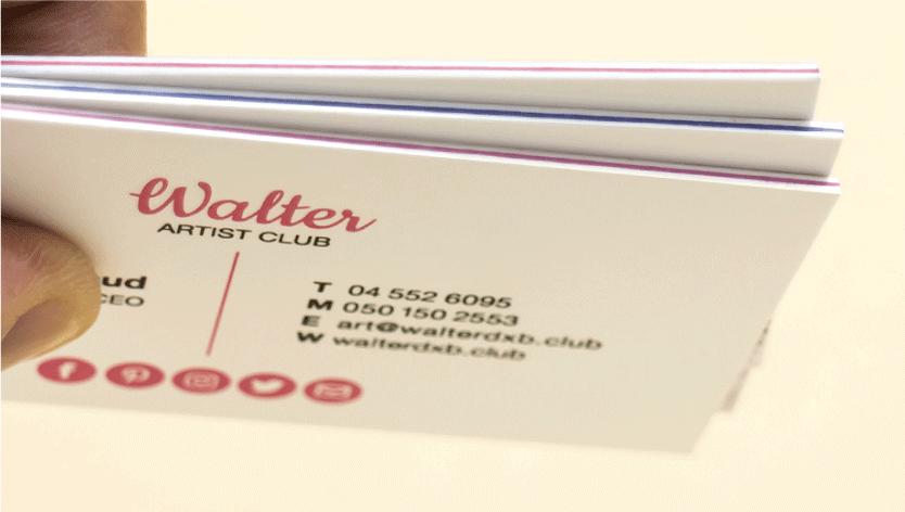 Triplex Business Cards - Zoom 3 Image