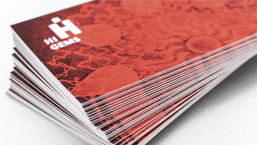 Velvet Laminated Cards - Zoom 1 Image