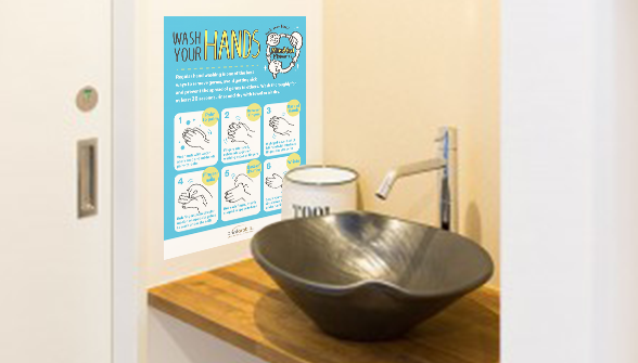 Wash Your Hands Poster - Zoom 3 Image