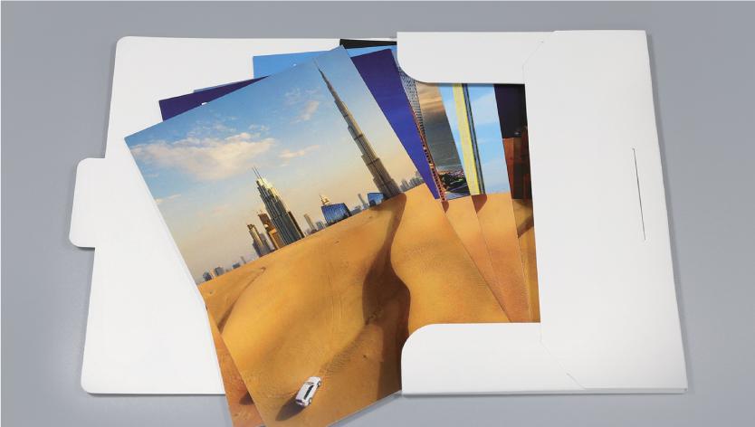 Postcards Folder - Zoom 1 Image