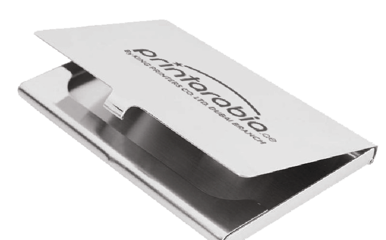 Metal Business Card Cases - Zoom 3 Image