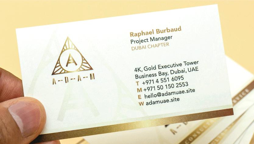 Conqueror Business Cards - Zoom 1 Image