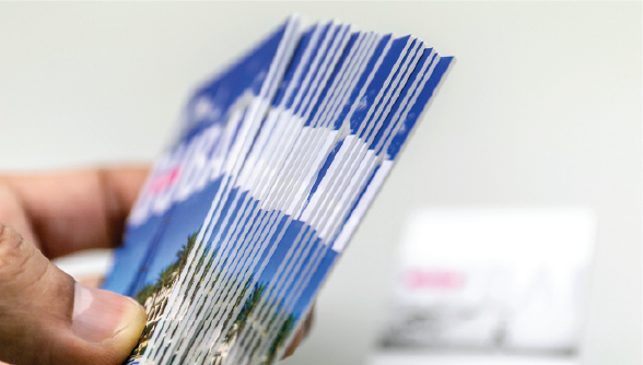 Double Pasted Cards - Zoom 2 Image