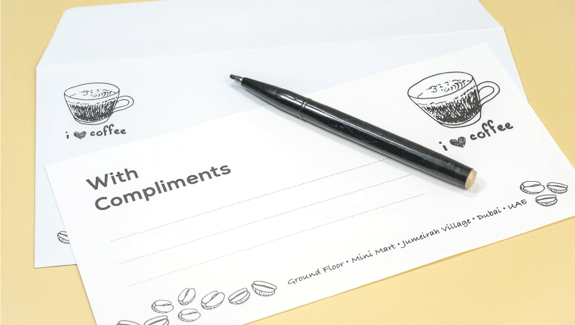 Conqueror Compliment Slips - Zoom 3 Image