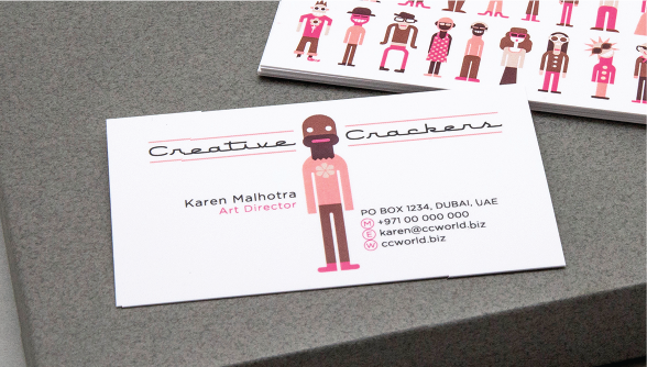 Standard Business Cards Order - Carousel Controll 04 Image
