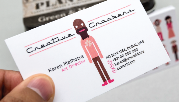 Standard Business Cards Order - Carousel Controll 02 Image
